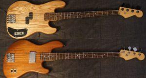 Guitar điện và Guitar bass
